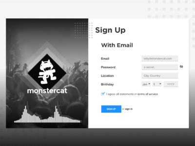 Monstercat Designs Themes Templates And Downloadable