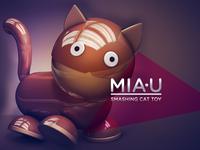 MIA-U Smashing Cat