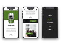 Hootenanny Beer website