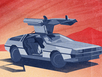 Deloreans are wicked cool!