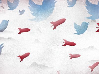 Terror on Twitter Illustration
