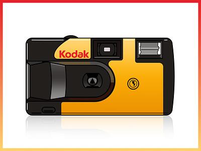 Kodak Camera | Illustrator noselfies camera kodak illustrator 2008