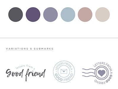 Good Friend Blogger Branding