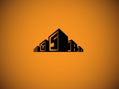 Santis Dr design logo bussiness apartement apps minimalism logo