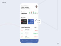 Banking user profile / Daily UI 006