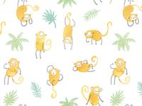 Monkeys Pattern