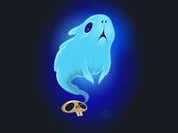 Ghost guinea pig