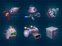 Spaceship upgrades