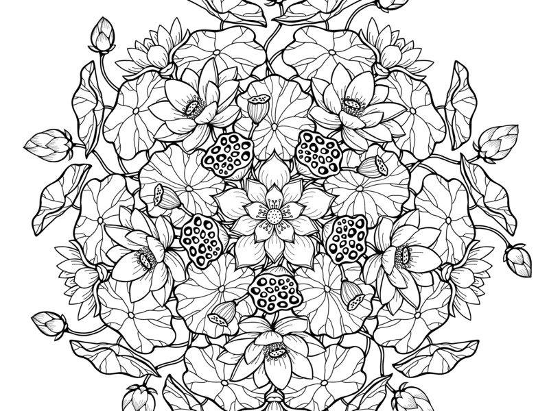 70+ Geometric Coloring Pages To Print And Customize   600x800