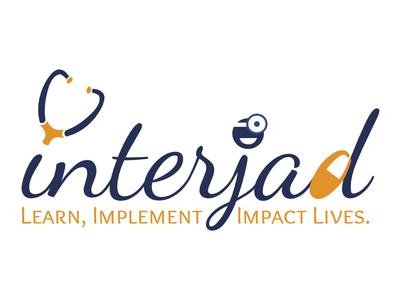 InterJad Logo procreate linea sketch affinity ipad ipad pro startup logo medical illustration art vector typography logo design logo