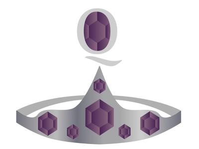 Queen's Bling Things logos vector art logo vector design illustrator illustration affinity designer procreate logo design