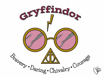 Better be Gryffindor! graphic design affinity designer affinitydesigner design digital art linea sketch ipad pro art artist illustration ipad pro hogwarts gryffindor harry potter