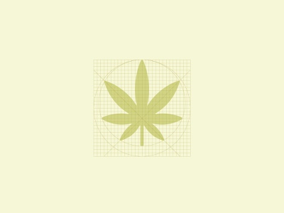 Weed grid layout grid illustrator vector branding iconography icon illustration design