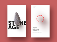 Stoneage Business cards