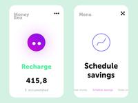 Concept design Money box