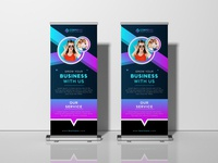 Free Exhibition Stand Roll Up Banner