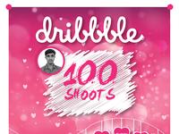 100 shoots on dribbble