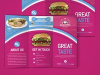 FOOD ,BROCHURE DESIGN