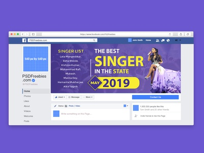 Facebook Page COVER PHOTO DESIGN