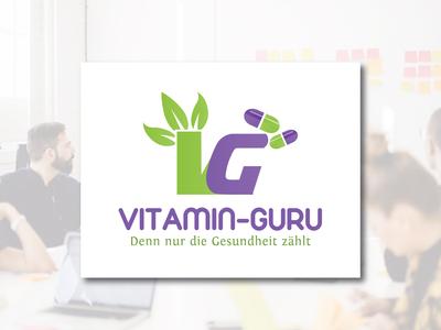 Vitamin Guru Logo Design