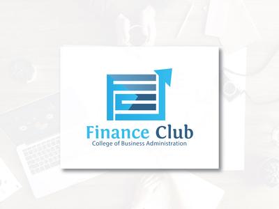 Finance Club Logo Design