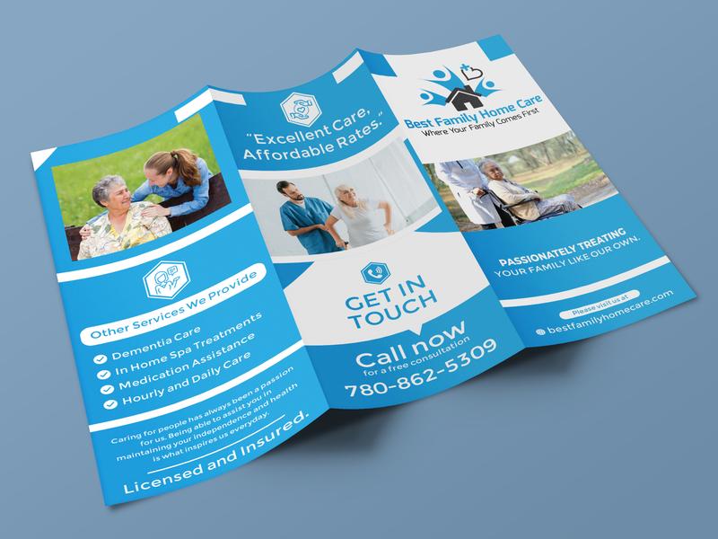 Trifold Brochure Design By Md Shahadat Hossain On Dribbble