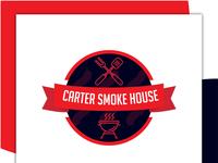 Carter Smoke House Logo Design