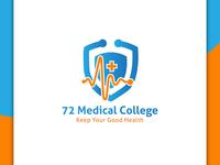 72 Medical College, Logo Design