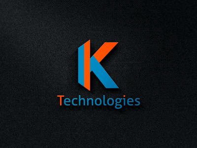 K Letter logo design - For Fiverr Client