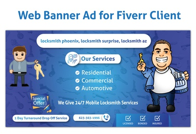 Web Banners Ads Design