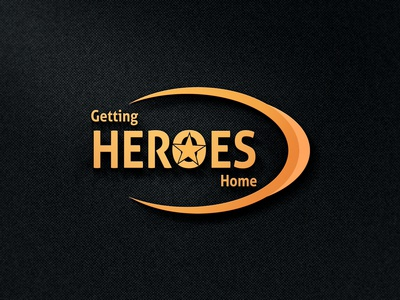 Getting Heroes Home, Logo Design
