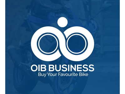 OIB BUSINESS, LOGO DESIGN, BIKE COMPANY