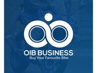 OIB BUSINESS, LOGO DESIGN, BIKE COMPANY