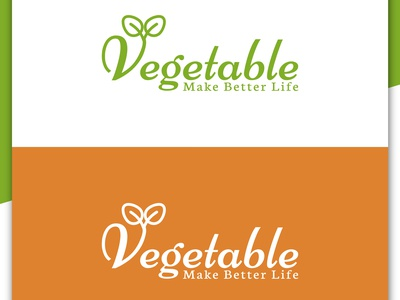 Vegetable Logo Design, Food Company