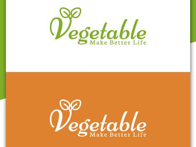 Vegetable Logo Design, Food Company