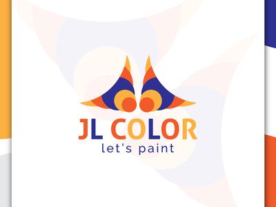 JR COLOR, PAINT COMPANY,  LOGO DESIGN