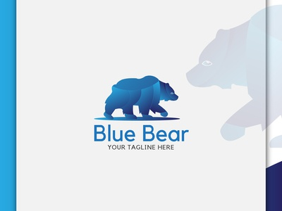 BLUE BEAR, LOGO DESIGN