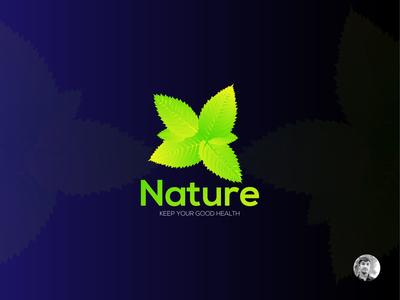 Nature Fitness Logo Design