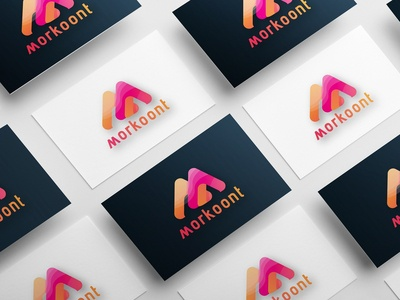 LETTER M ABSTRACT LOGO DESIGN