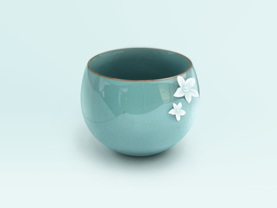 Ceramic cup by mogo - Dribbble
