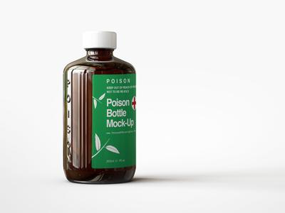 Poison | Medical Bottle Mock Up