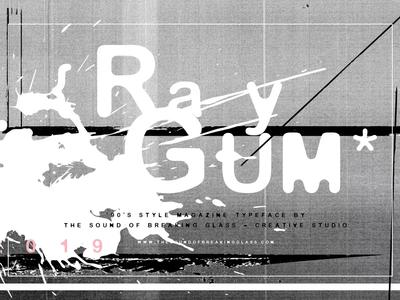 RayGum | Font