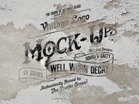 Rustic & Vintage Logo Mock Up Pack