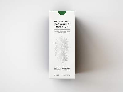 Deluxe Paper Box Mock-Up hemp oil branding cannabis cannabis packaging medical marijuana beauty product oils dropper cbd hemp mockup design mockup template packaging mockup mockups mock up mockup psd branding and identity packaging mock-up box