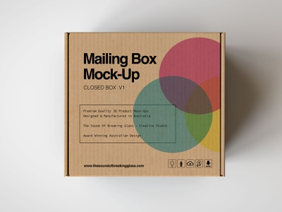 Mailing Box  | Shipping Box Mock Up print design identity branding packaging shipping company shipping box mailing box craft amber brown plain recycled smooth white shipping presentation mock-up mockup box cardboard corrugated