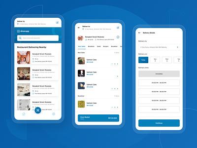 #Exploration - Diner App delivery food food app