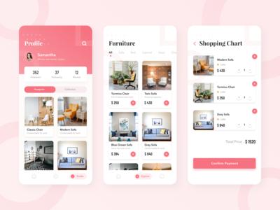 #Exploration - Furniture App