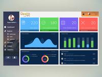Geeky Dashboard Design