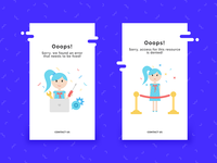 Error page design