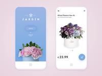 Floral shop app